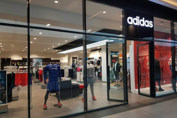 Adidas Shop Front at Two-Rivers Mall